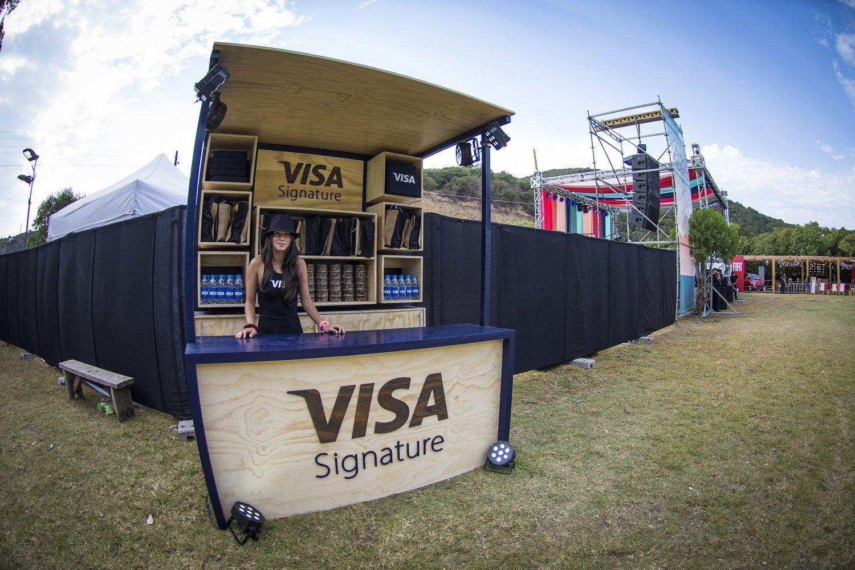 Visa campo abierto